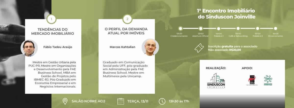 Encontro mobiliário - Sinduscon Joinville